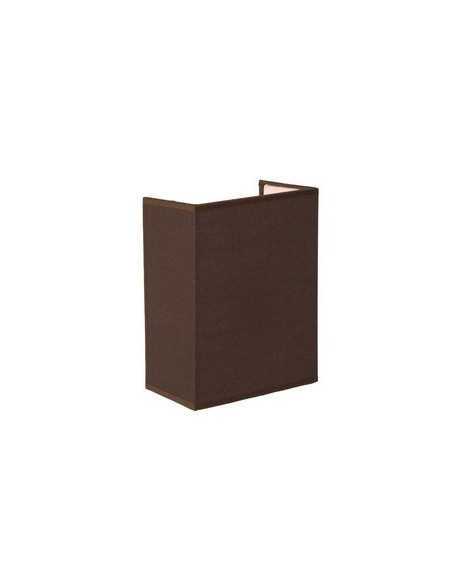 Applique Cora Rectangle Marron