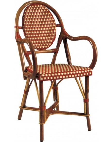 fauteuil rotin croisette nylon. Black Bedroom Furniture Sets. Home Design Ideas
