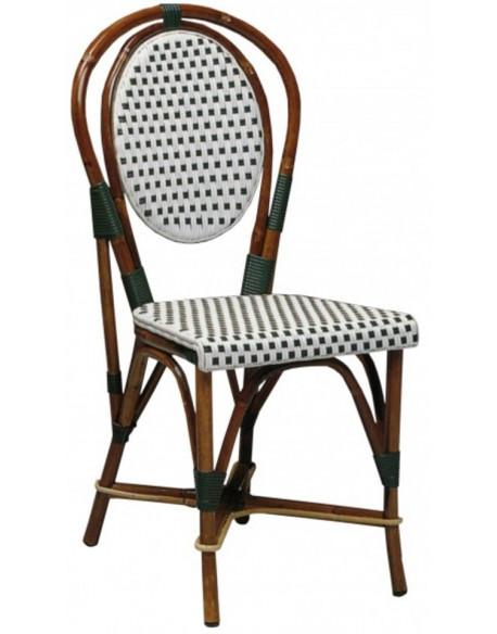 chaise rotin elyse - Chaise En Rotin