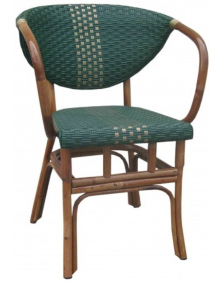 Fauteuil Rotin Lilly